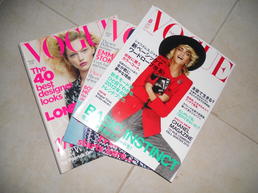 My love for VOGUE