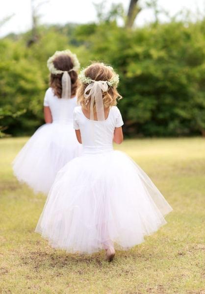Flowers girls & pretty dresses…