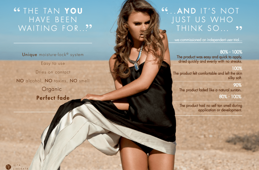 VITA LIBERATA SELF TAN…. NEW IN DUBAI