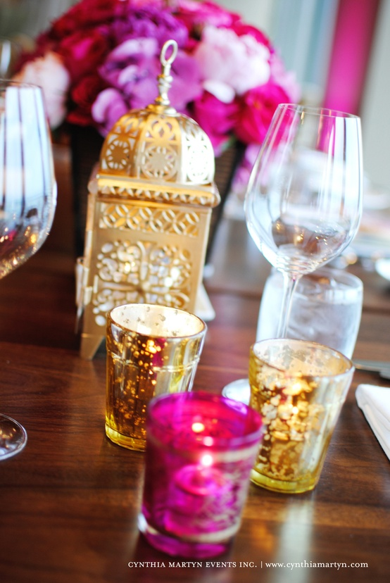 Moroccan inspired wedding decor ♥