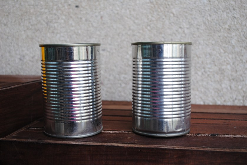 DIY – Pretty canned flowers ♥