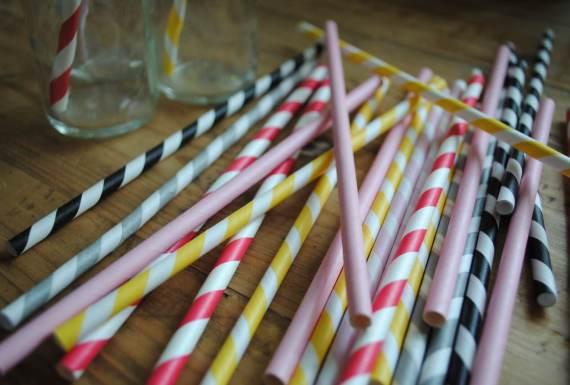 paper straws - AED 36 from Creative Box in Dubai