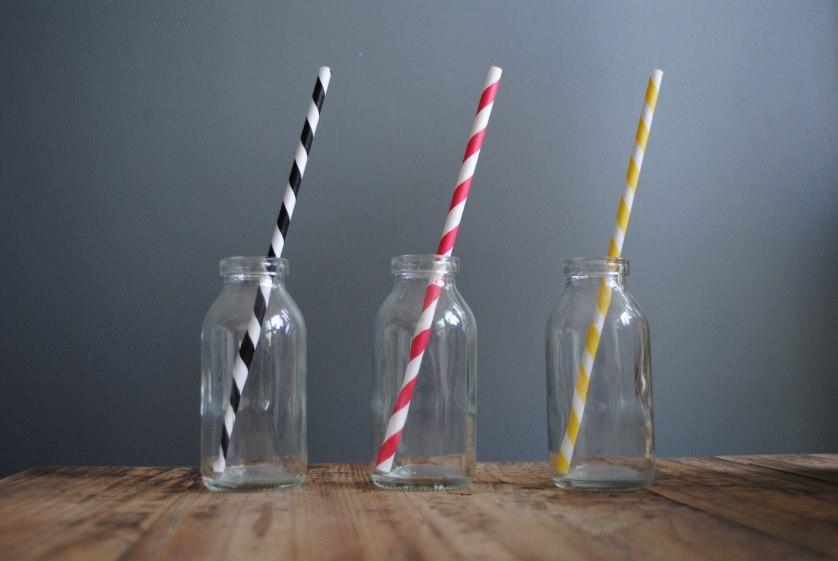 I love paper straws.