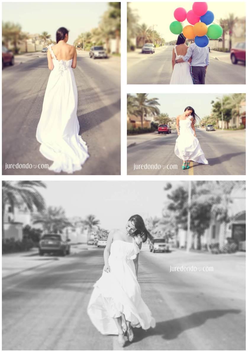 Ju Redondo's playful bridal shoot ♥