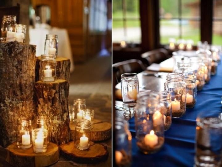 Lighting a wedding…