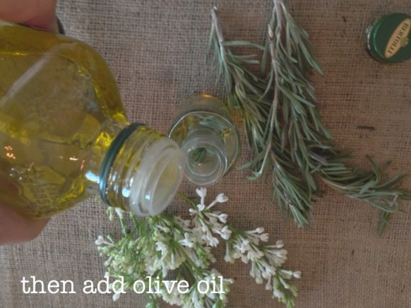 DIY Olive Oil Favors
