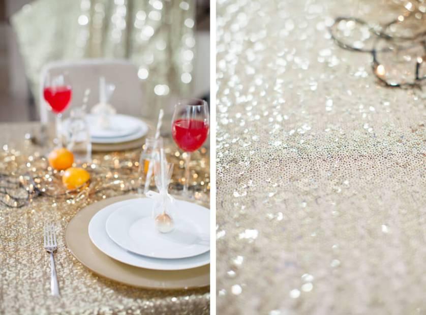 Gold & Glittery | Christmas Table Decor  ♥