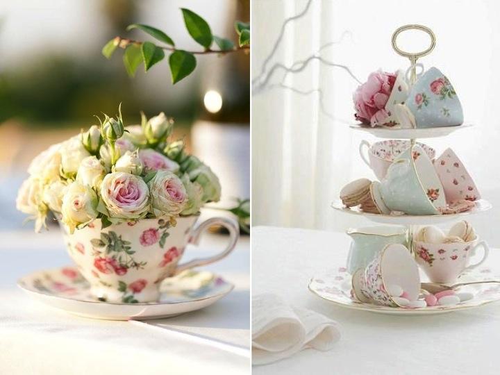 Lovely little teacups | wedding inspiration