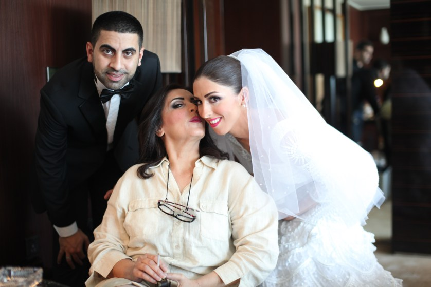 The bride with the Walid Atallah dress ♥