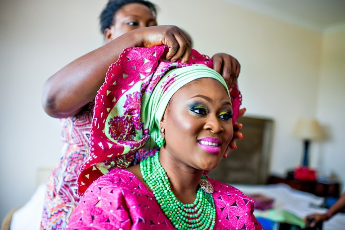 Ola's colourful wedding - My Lovely Wedding Blog