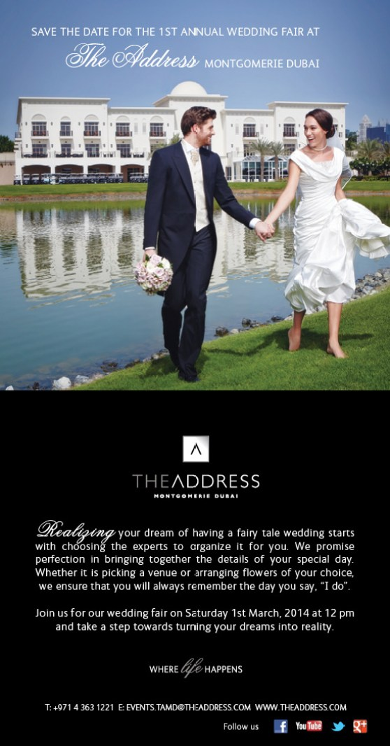 The Wedding Fair - Save the date
