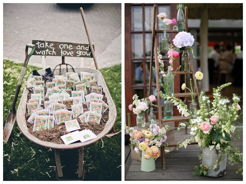 The rustic wedding must-haves…