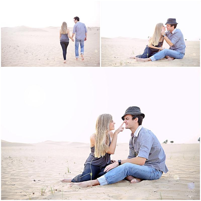 Desert love & smiling faces