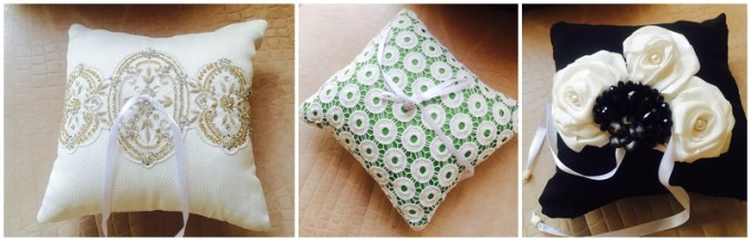 Ring cushions - Vintage Bloom