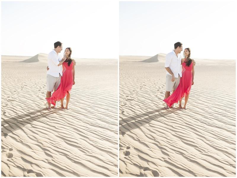 A desert  engagement shoot by Abbi Kemp