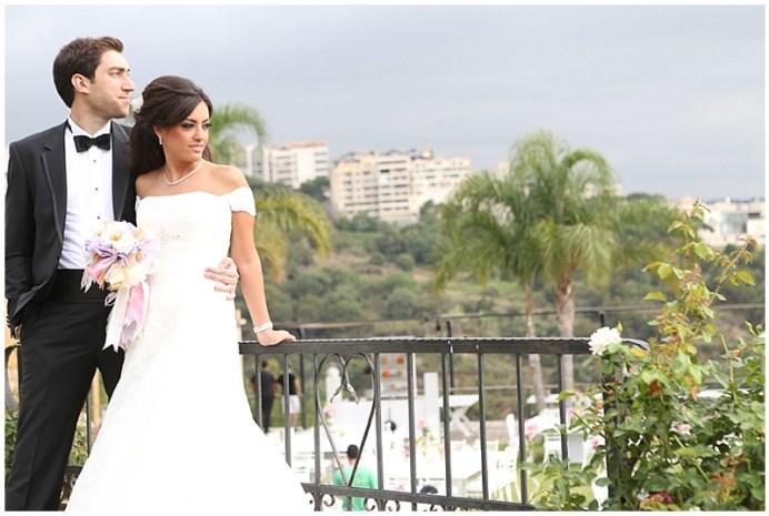 Lebanon wedding - Outdoor pretty wedding
