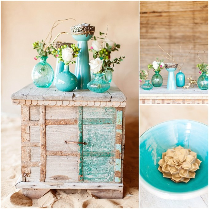 Styled Shoot - Dubai Desert - Mint green, teal and gold. Photography by Maria Sundin 2014-09-17_0005