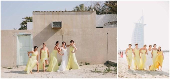 Carissa and Bassam's wedding at the Desert Palm Hotel, Dubai.