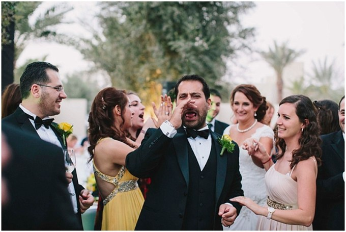 Carissa and Bassam's wedding at the Desert Palm Hotel, Dubai.