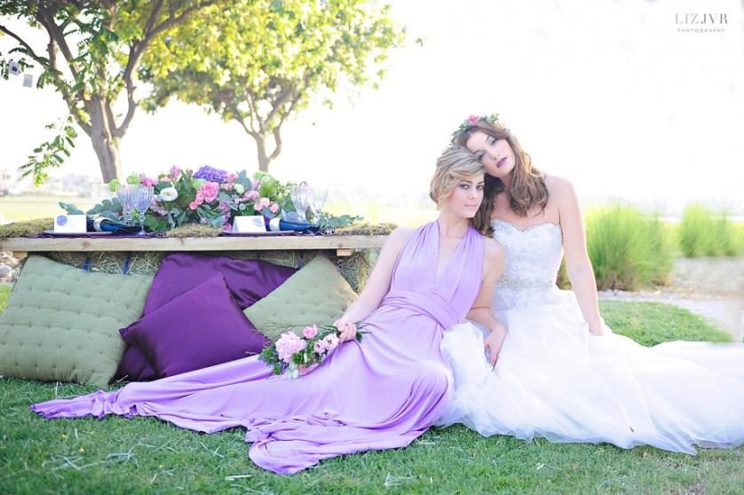 Lovely & Lavender – A Dubai Styled Shoot