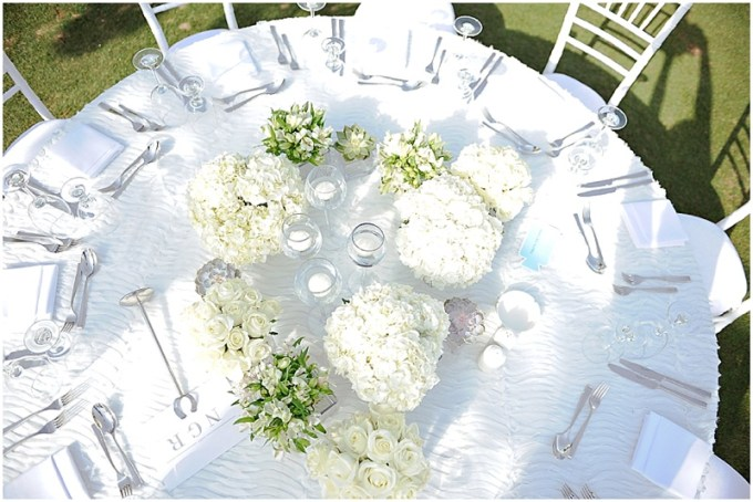 Lovely white and green floral inspiration by Vintage Bloom - Dubai florist