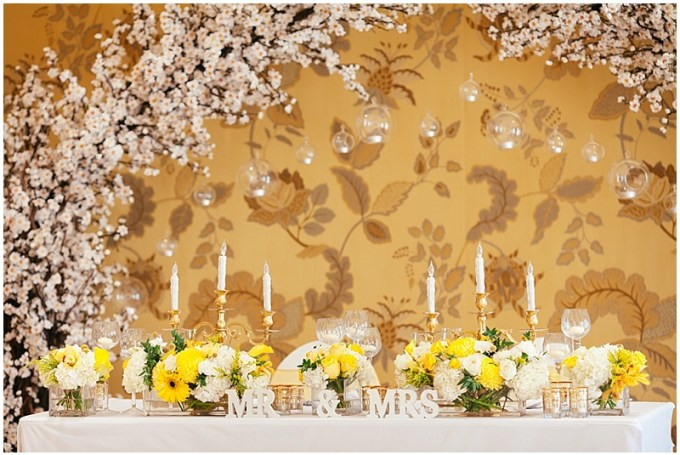 Vintage Bloom - Yellow and White Floral Inspiration - Dubai wedding vendors
