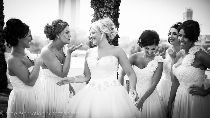 Frog & Thistle wedding photography in Dubai
