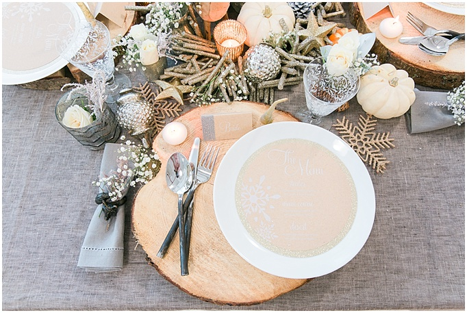 Festive Table Styling – {Rustic Chic}