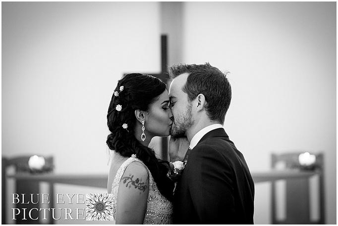 You may kiss a bride. Jamie + Paula Today
