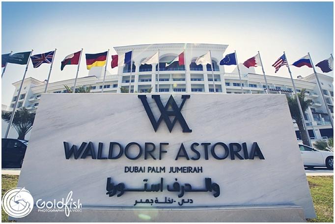 A stunning Persian wedding at Waldorf Astoria, Palm Jumeirah, Dubai.