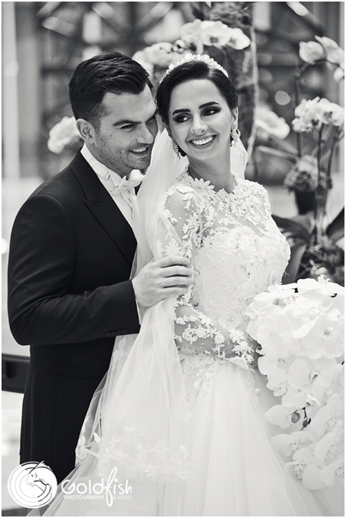 Dubai Wedding at Waldorf Astoria by Goldfish Photography & Video in Dubai