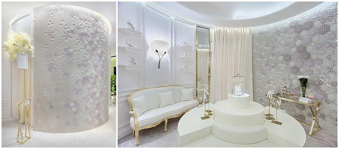 Bridal Shoes at Dubai Mall