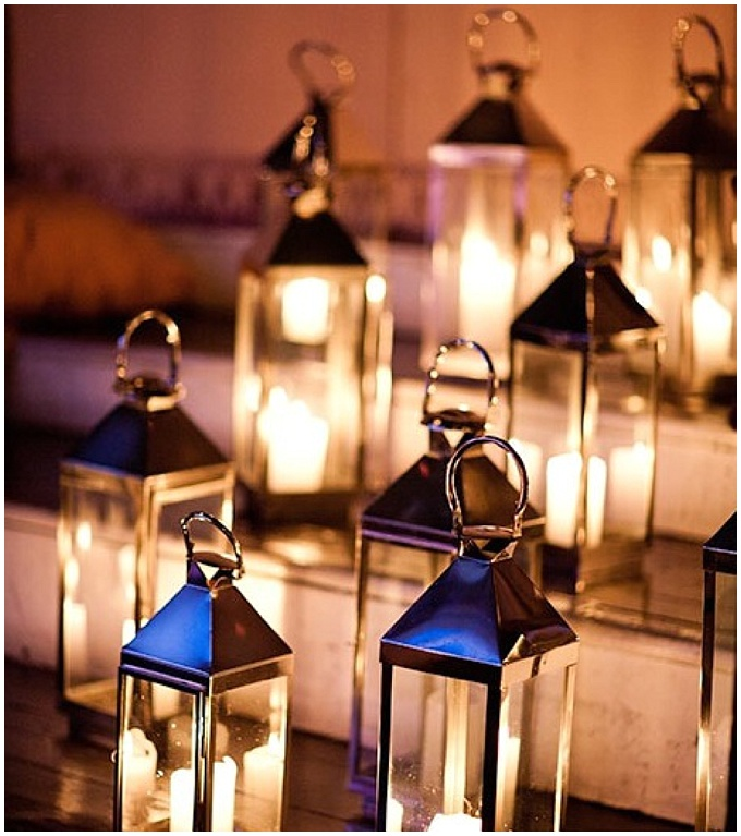 Lighting your wedding - A budget friendly styling tip.