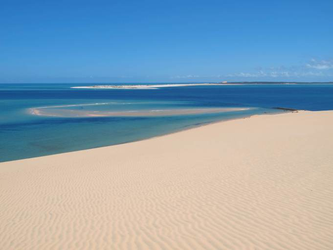Beach in Mozambique, Africa