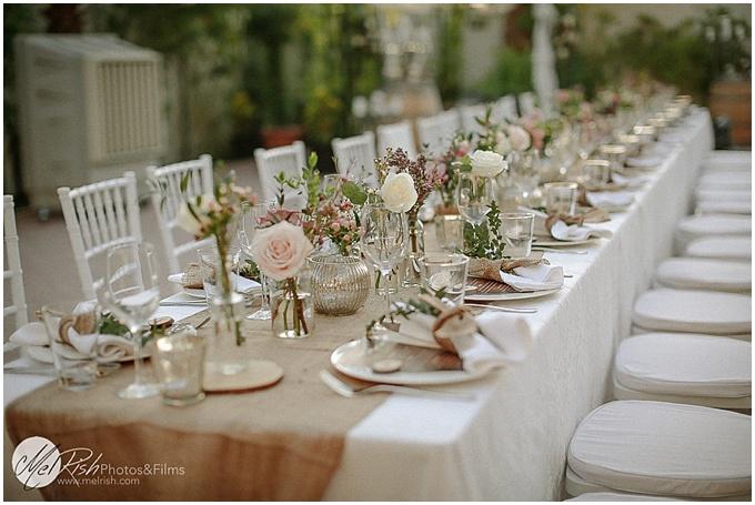 A budget friendly backyard wedding in Dubai.