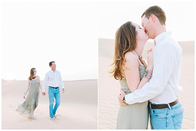 Desert Engagement Shoot - Dubai Wedding Photographer - LIZ JVR