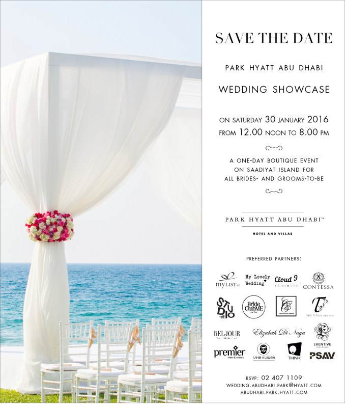 Wedding Showcase Save the Date 2016