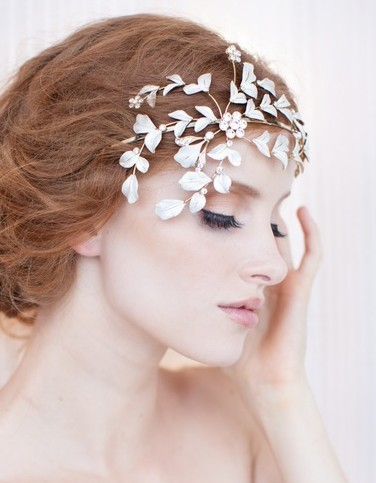 Pretty pretty bridal headpieces…Justine M Couture at The Bridal Showroom