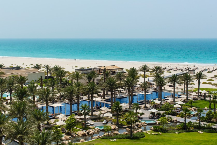 An idyllic beach view venue…summer weddings at Park Hyatt Abu Dhabi