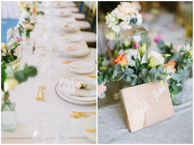 Dubai wedding at Four Seasons hotel - Styling by Joelle