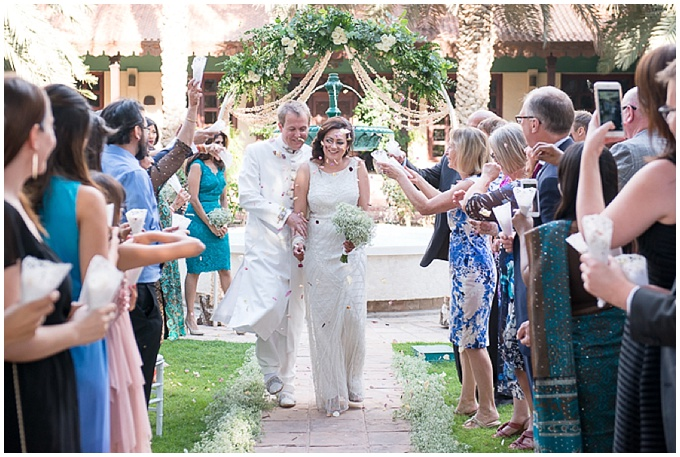 Nicholas + Natasha's Dubai garden wedding {Photography by Liesl Cheney}