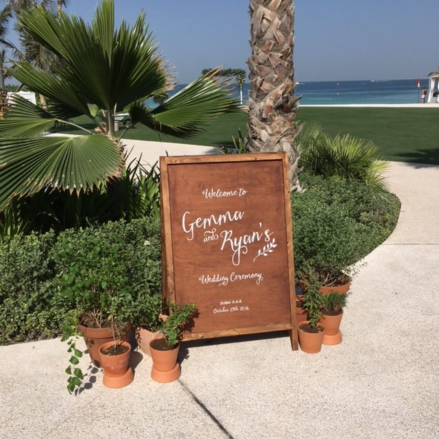 Gemma + Ryan's Lovely Dubai Wedding {Al Qasr, Madinat Jumeirah}