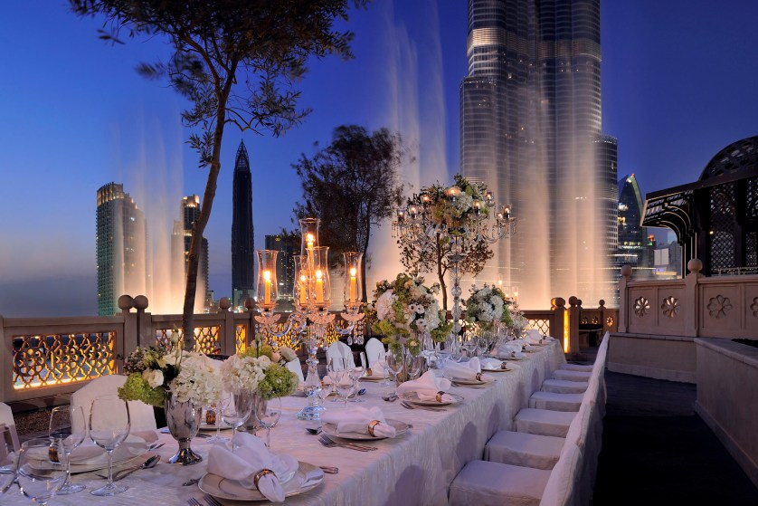 Introducing Palace Downtown {A lovely Dubai Wedding Venue}