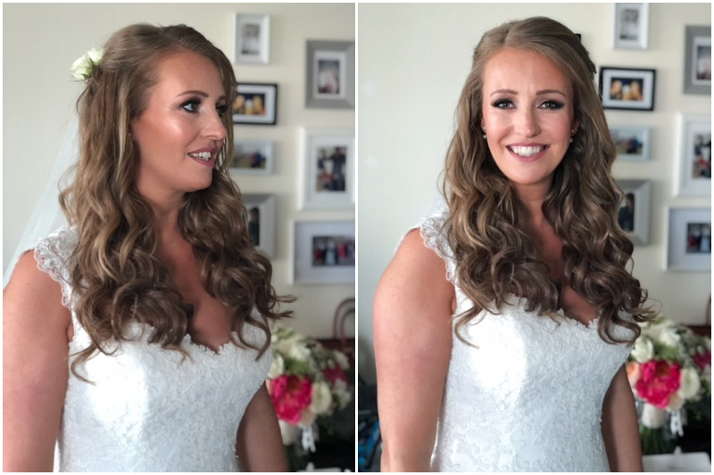 HAIR BY MONICA AT MHG BEAUTY - DUBAI WEDDING