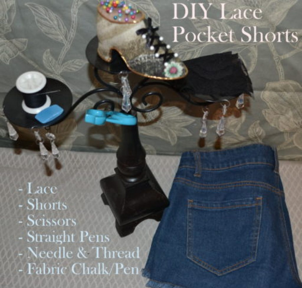 """Materials DIY Lace Pockets"""