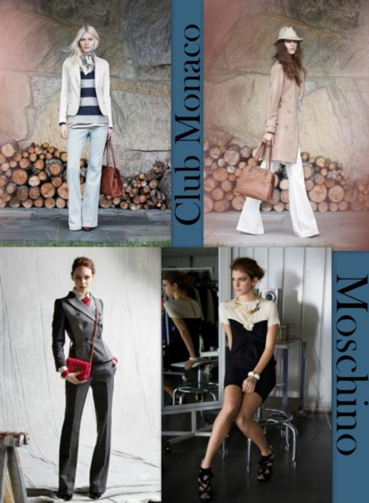 """Moschino and Club Monaco 2012"""