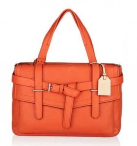 """Tangerine Tango Reed Krakoff Leather tote"""