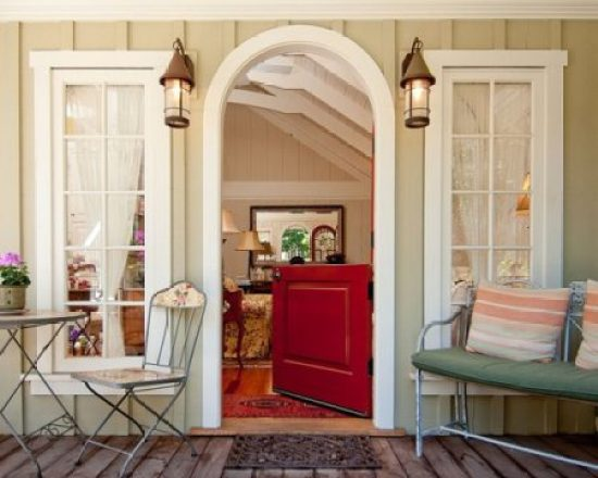 """Shabby Chic Front Porch"""