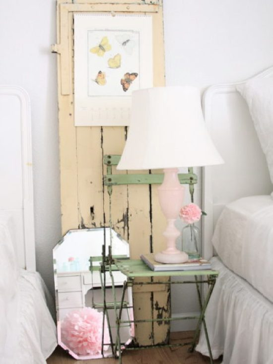 """Shabby Chic End Table"""