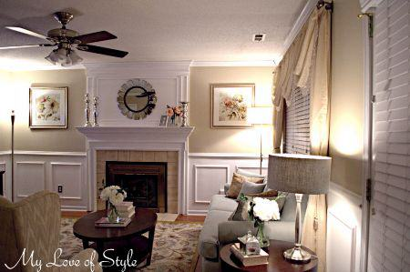 Budget Living Room Makeover | My Love of Style – My Love of Style